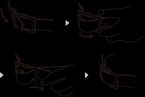 フリコベルトの使用方法